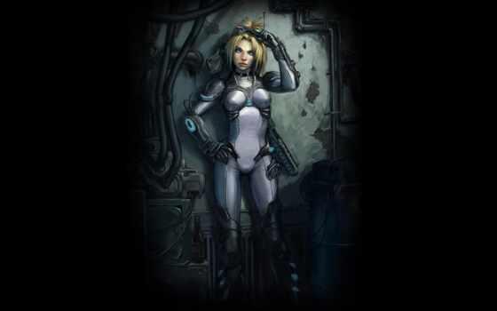cyberpunk, futuristic, девушка, масть, scus, cyber, джейсон, характер, женский, starcraft, воин