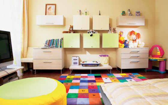 интерьер, детских, design