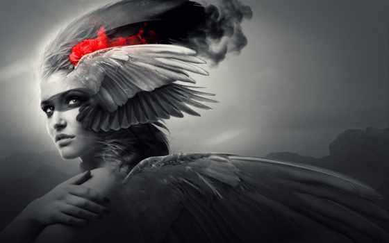 fantasy, devushki, ангелы