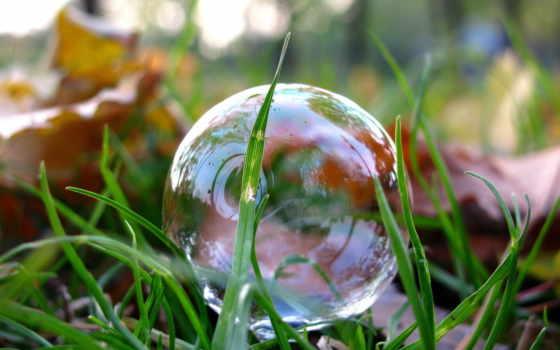мыльные, пузыри,