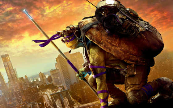 turtles, ninja, mutant, teenage, черепашки, out, shadows,