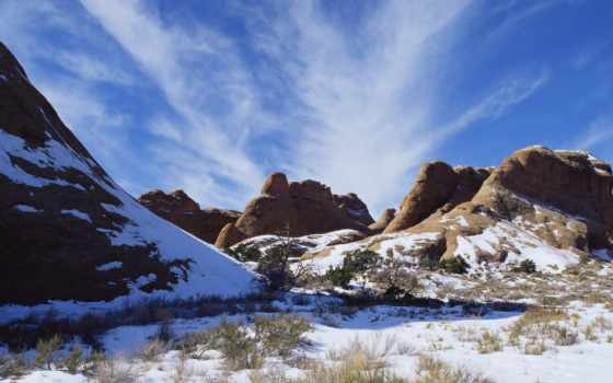 природа, закат, america, manchester, national, зимнее, юнайтед, oblaka, горы,