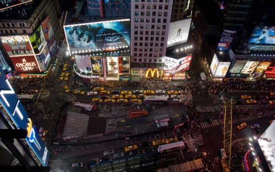 york, new, нью, небоскрёб, ny, taxi