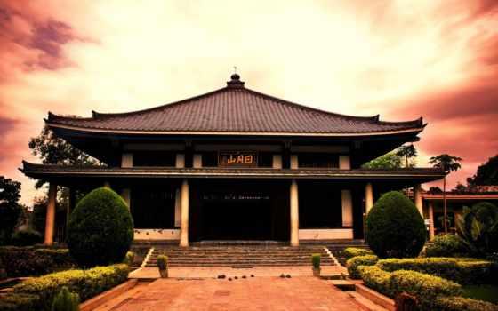 temple, япония