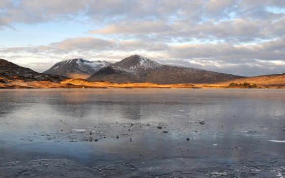 горы, облака Фон № 12000 разрешение 1920x1200