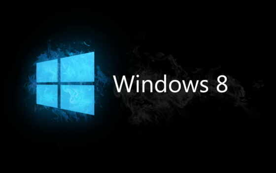 windows, 8, logo, blue