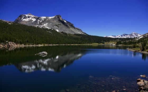 озеро, горное
