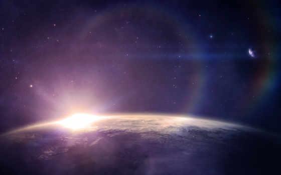 звезды, восход