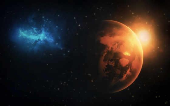 galaxy, ecran, planet