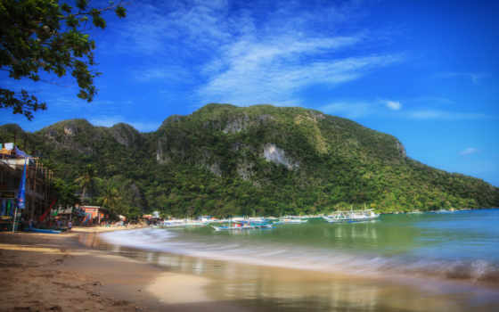 philippines, palawan, пляж