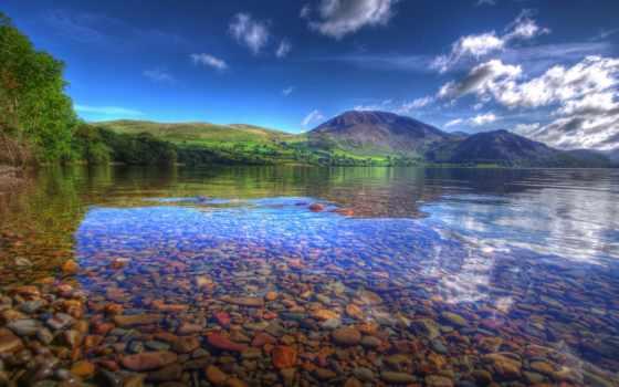 природа, горы, озеро Фон № 88565 разрешение 1920x1200