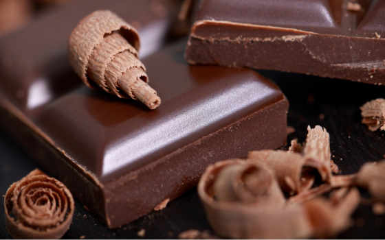 chocolate, шоколад, eда
