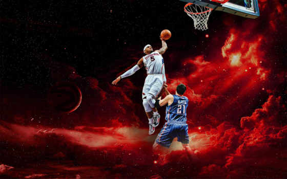 dunk, баскетбол, смит, nba, josh, widescreen, dunks,
