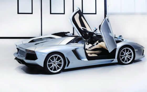 lamborghini, aventador, roadster Фон № 113056 разрешение 1920x1080
