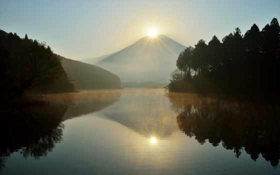 озеро, фудзи, seen, pinterest, psalms, tanuki, mt, япония,