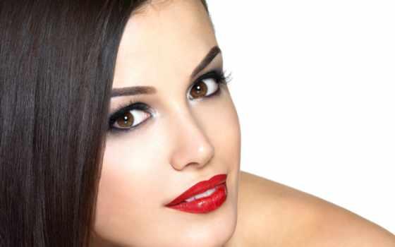 макияж, permanent, татуировка, губ, бровей, макияжа, stock, перманентного,