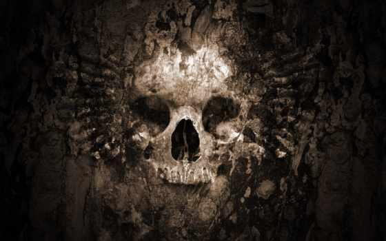череп, play, gothic, free, телефон,
