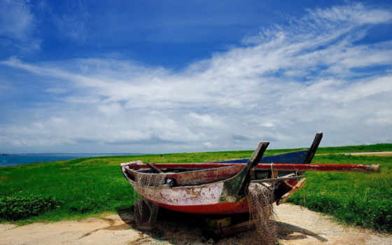 cb, фон, планшетный, mobile, лодка, рыбалка