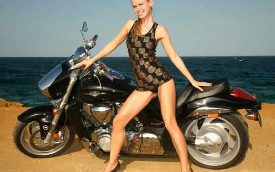 мотоцикл, бандит