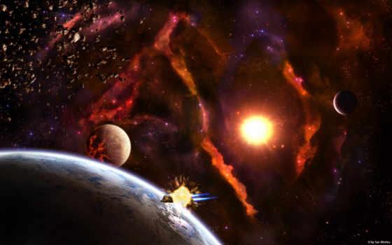 космос, земля Фон № 24569 разрешение 1680x1050