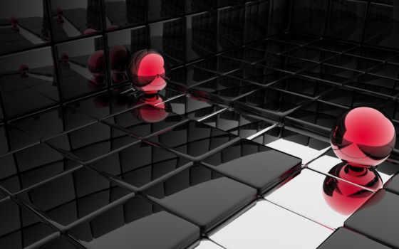 black, blue, squares