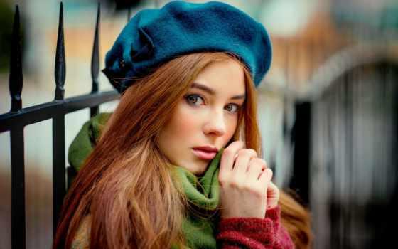 девушка, берете, яndex, коллекциях, лицо, взгляд, фотосессии, городе, card, идеи, коллекции,