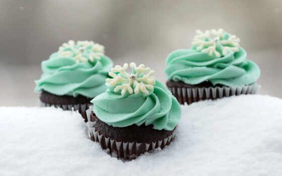 сладость, сладкое, meal, мороженое, winter, торт, снежинка, десерт