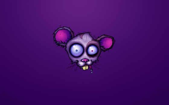 crazy, мышь