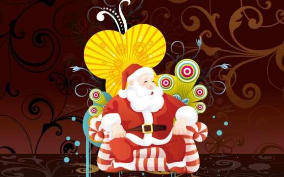کریسمس, claus, christmas, santa, art,