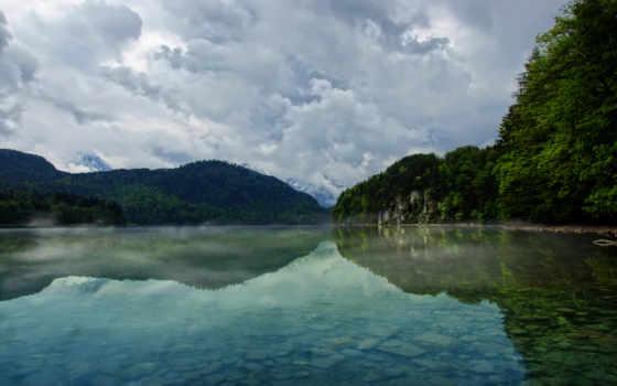 озеро, пейзажи, река