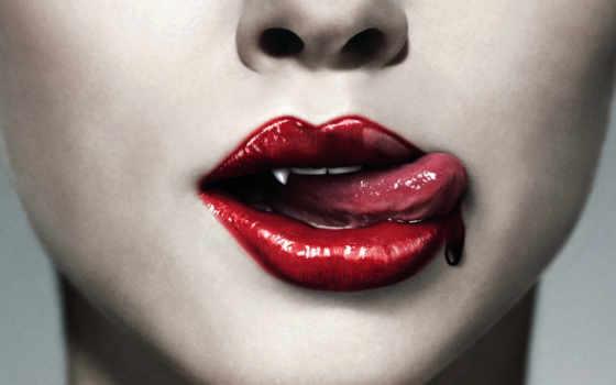 губы, вампиры, вампира, vampire, вампирах, devushki, вампирши, красные, кровь,