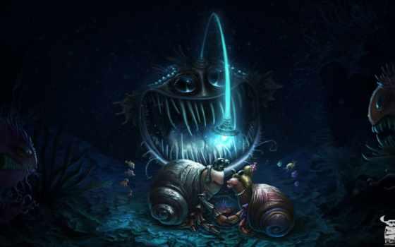 anglerfish,
