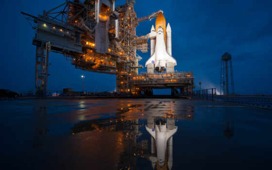 space, атлантис, shuttle, полет, последний, стартовая, площадка, перед,