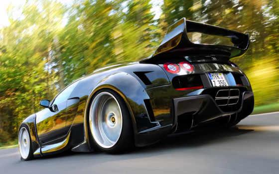 powerpuff, тачки, bugatti, veyron, тюнинг, спорт, машина, sen, взгляд, mix,