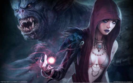 age, дракон, origins, морриган, mage,