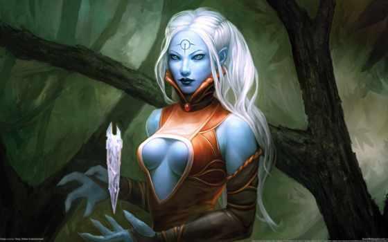 blue, эльф, you, art, pinterest, полка, девушка,