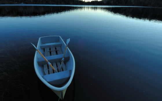 лодка, картины, лодки