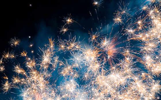 день, салют, fireworks