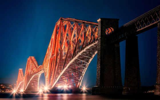 эдинбург, прочие, шотландия, мост, free,