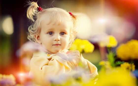 ребенок, garden, детские, фотографий, pr, природе, ребенка,