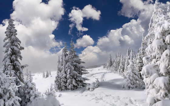 winter, снег, ultra, scene, pejzaži, горы, страница,