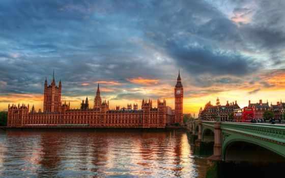 лондон, река