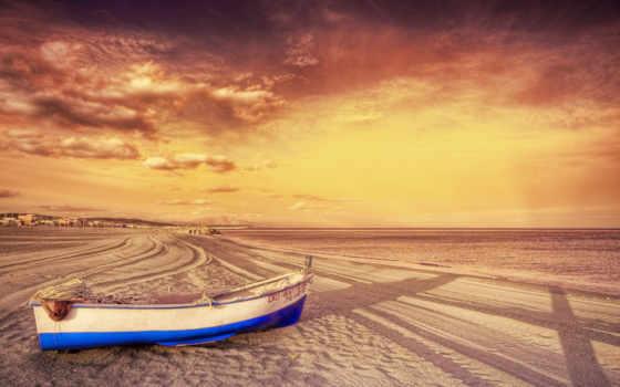 beach, boat Фон № 26913 разрешение 2560x1600