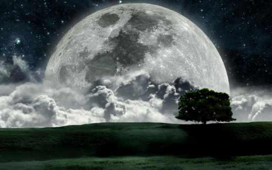 луны, луна, karunesh