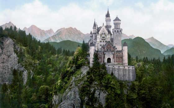 world, castles, castle, largest, замки, дворцы, нойшванштайн, крепости,
