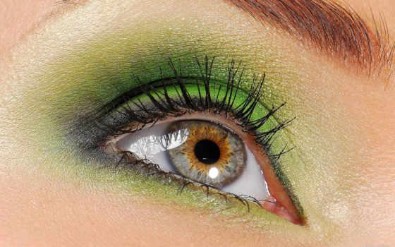 глаз, лицо