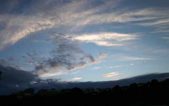 небо, солнце