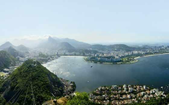 Рио-де-Жанейро вид сверху