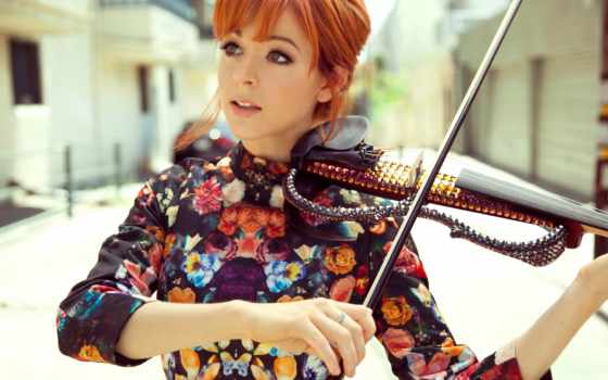 скрипка, линдси, lindsey, stirling, девушка,