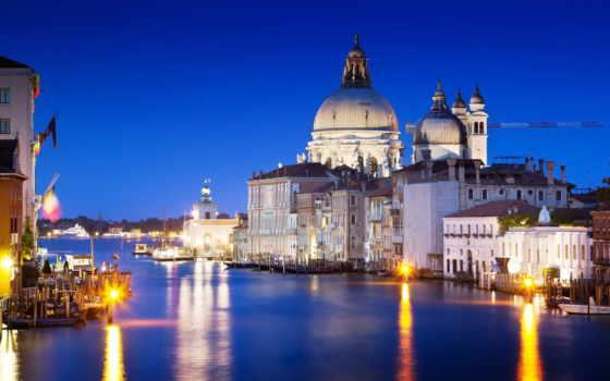 venezia, italian, канал, гранд, города, venice,